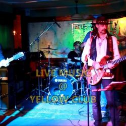 Live Music Yellow Club  Ride on Band in The Ye
